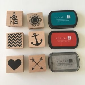 Other - Stamp Set & 3 Stamp Pads